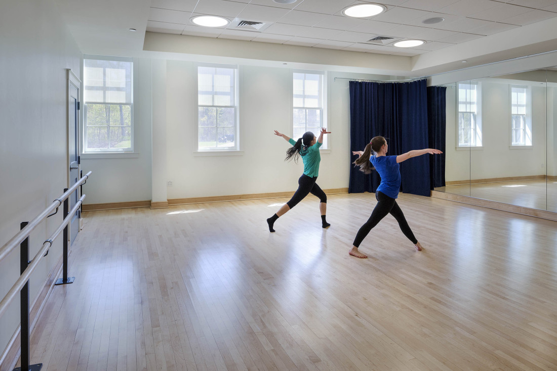 Pingree Arts Wing Dance Studio
