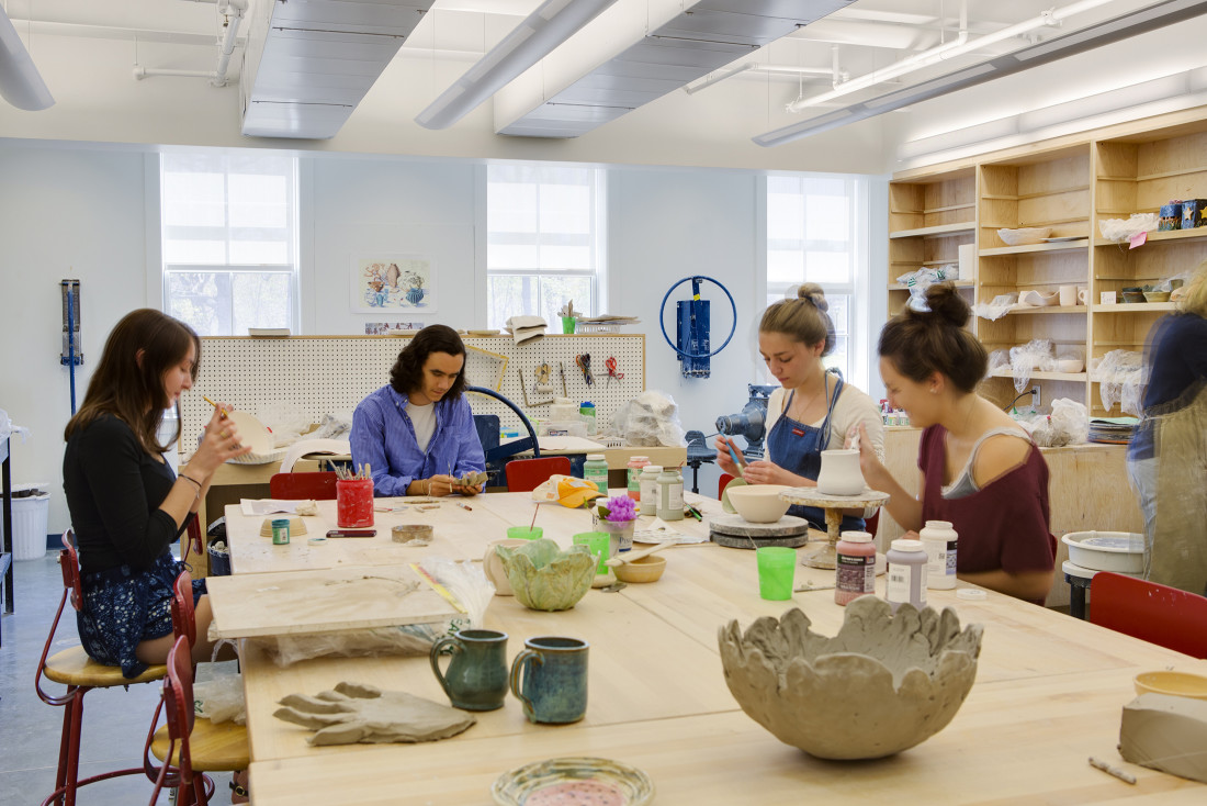 Pingree Arts Ceramics Room