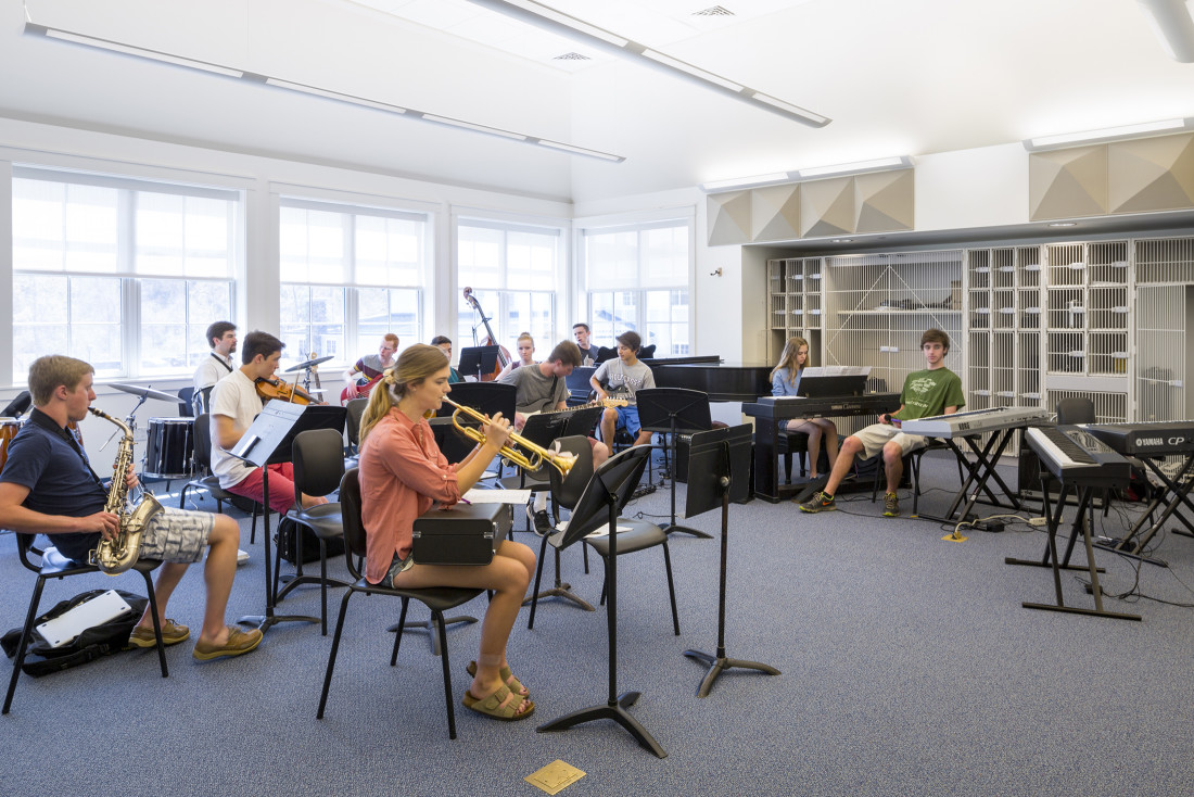 Pingree Arts Wing Music Room
