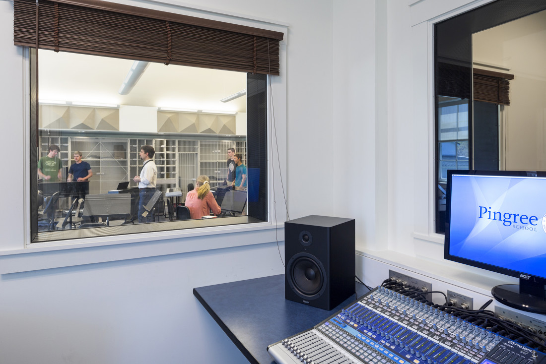 Pingree Arts Wing Sound Booth