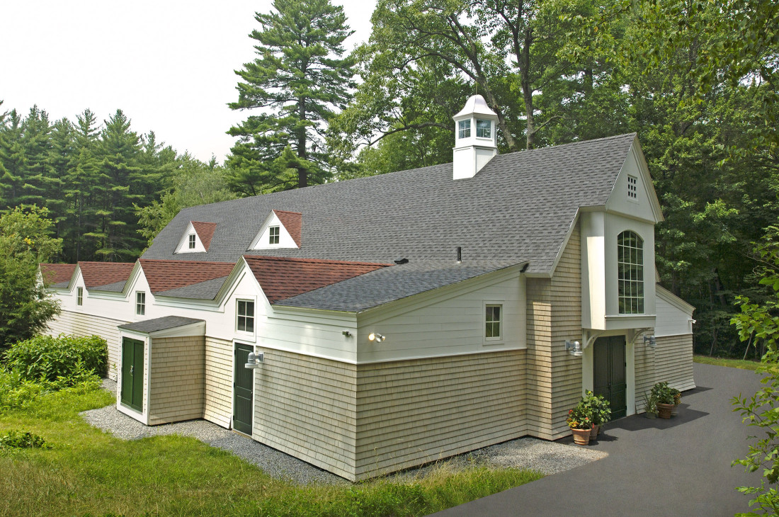 Groton School Boat House Entrance from Road