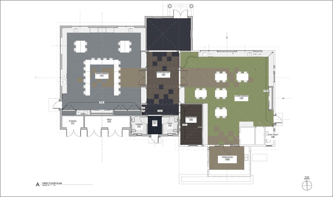 STEM & Science Center Floor Plan