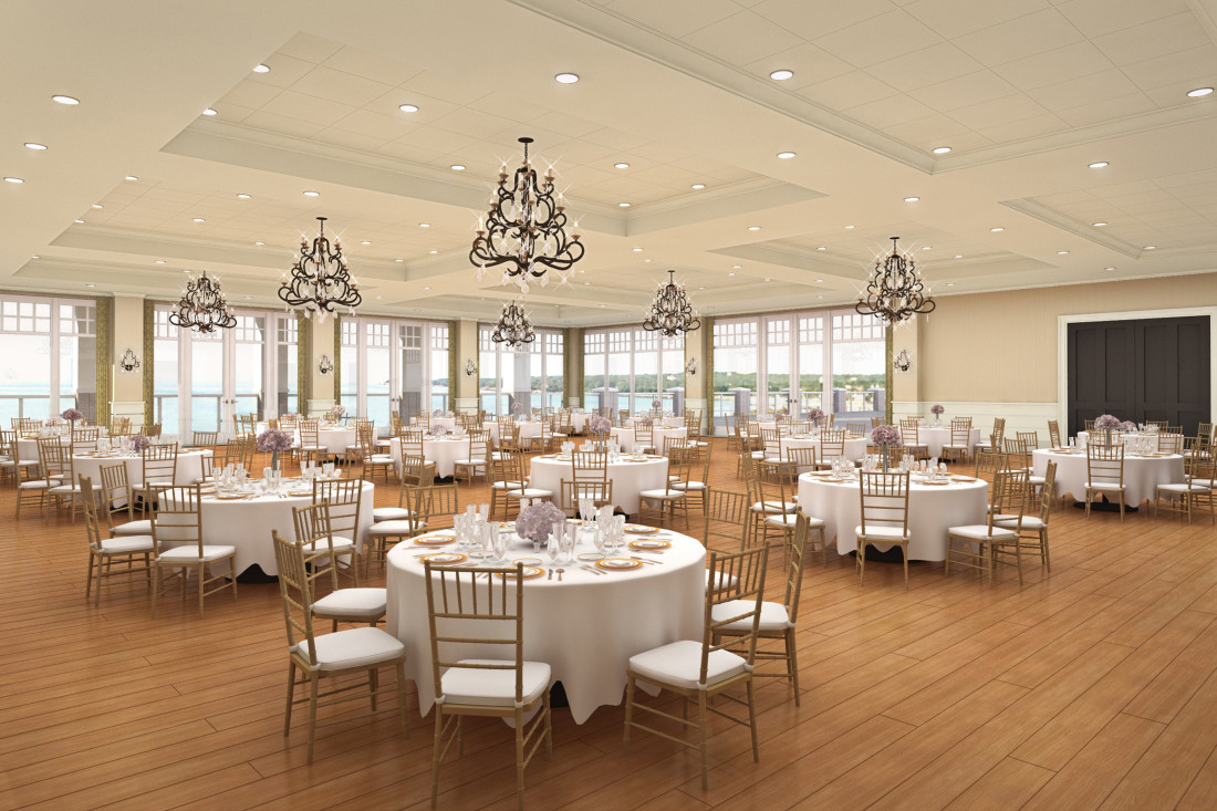 Beauport Hotel Interior Rendering