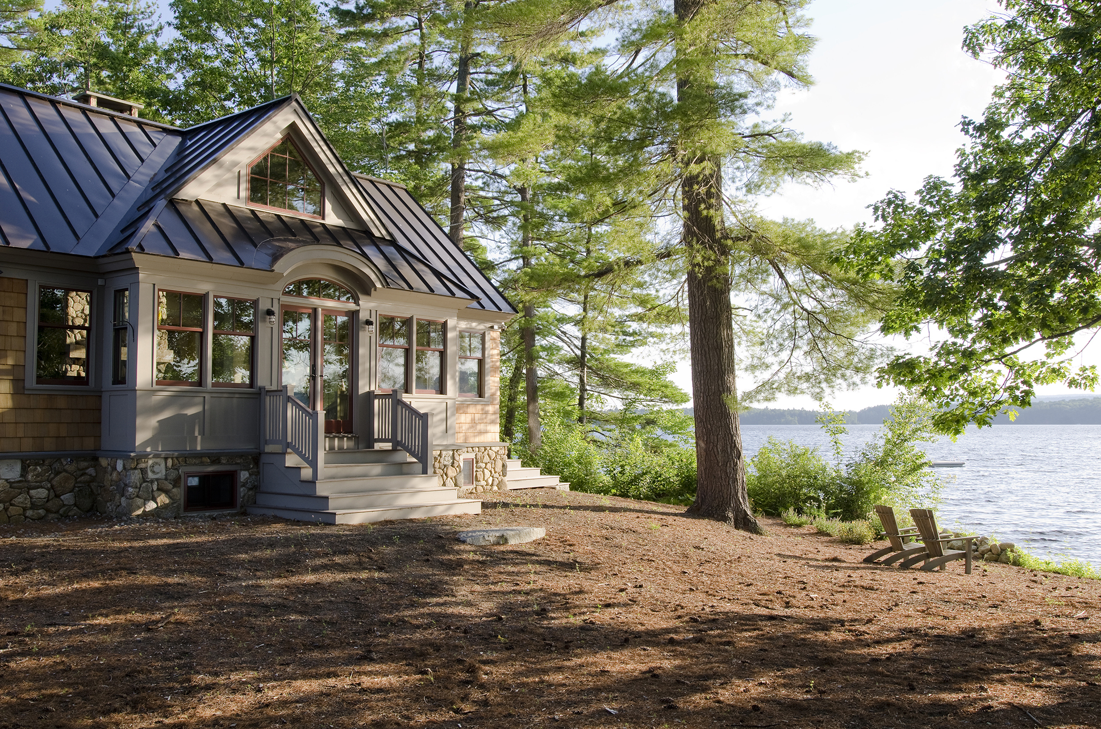 Maine Lakeside Home Olson Lewis Architects