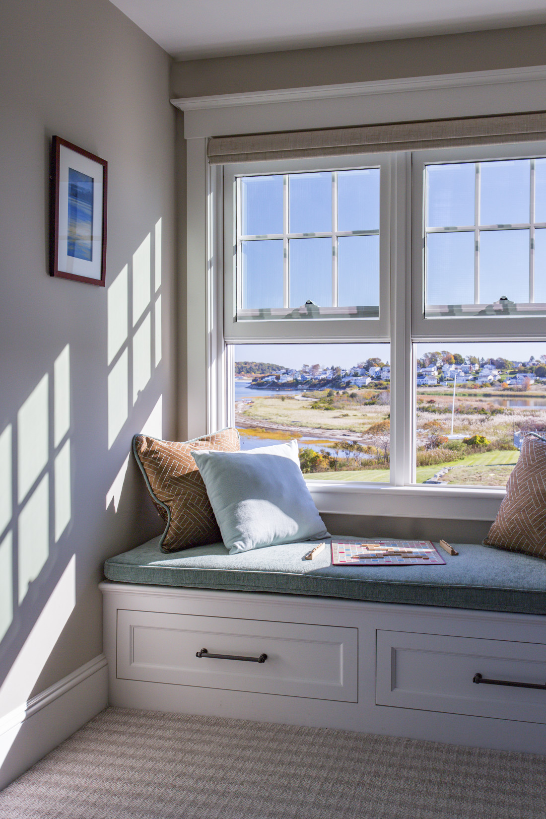 Master Bedroom Window Seating