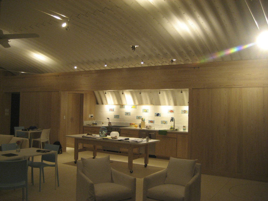 Indoor Kitchen Area