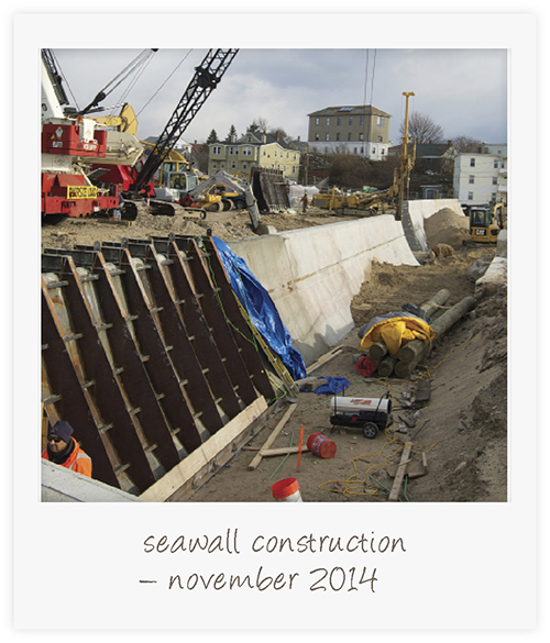 seawall construction A