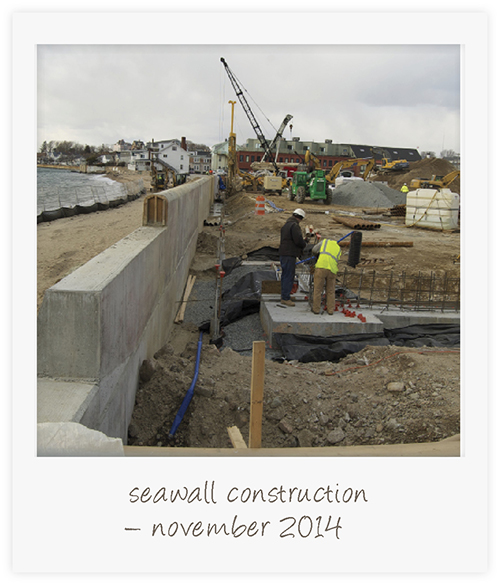 seawall construction B