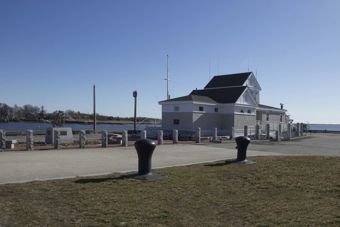 Port Fishermen Monument, adjacent to harbormaster