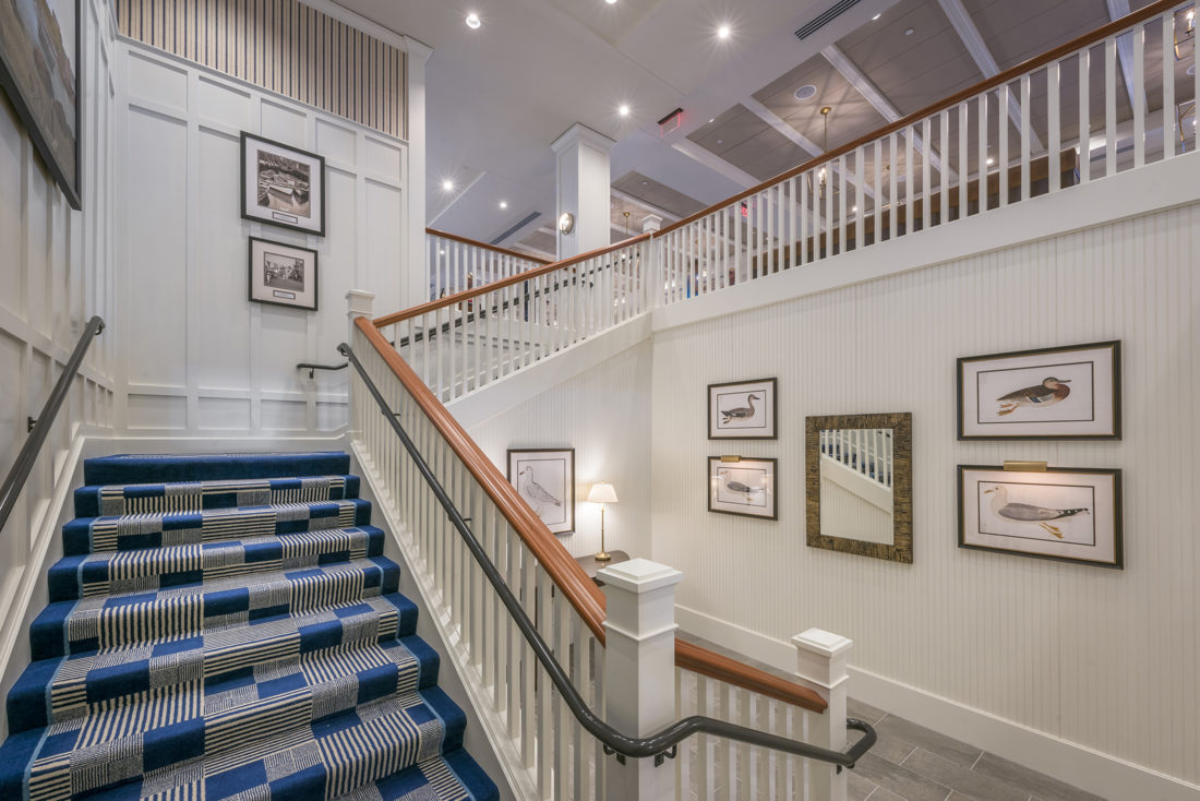 Beauport Hotel Entrance Stairway